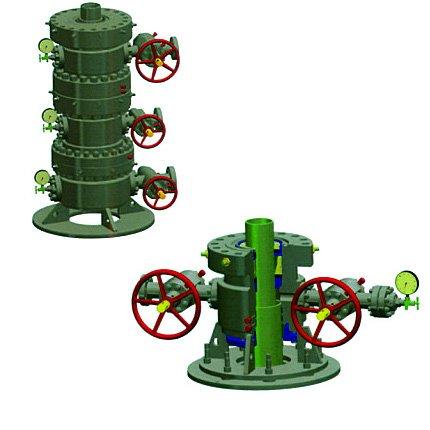 Casing head, Oil wellhead equipment.