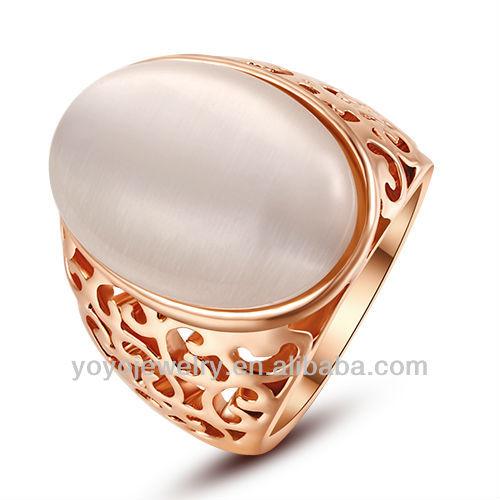 joyera diseo de pakistn de quilates de oro laminado anillo de piedra grande diseos