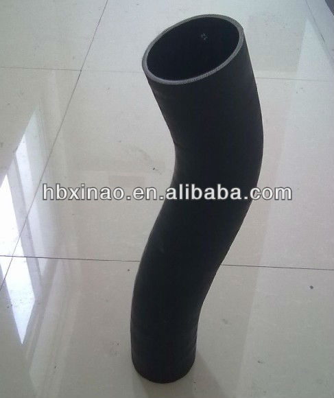 Rubber tube with joint