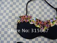 free shipping  sexy bikini ,ladies swimwear ,beach swimwear ,Secret SwimwearHFSV14001 PUSH UP STYLE