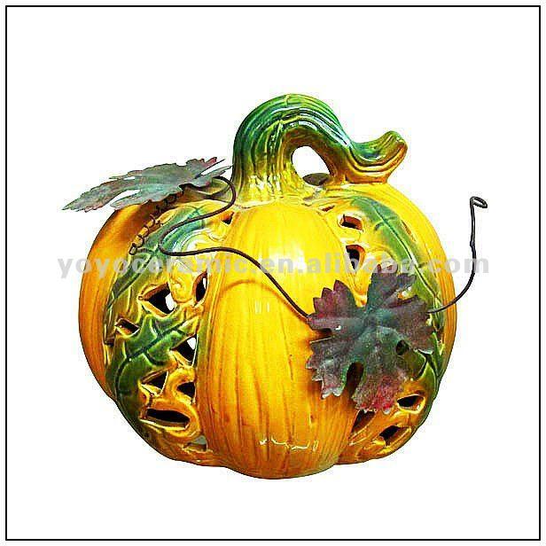 craft pumpkins green