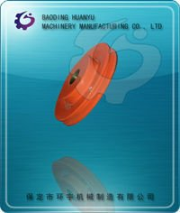 oem and standard steel flat belt pulley
