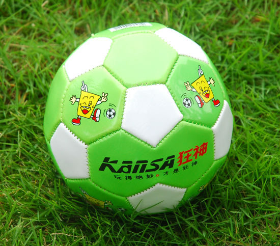 2# PVC Mini Colorful Machine Stitched Children Footballs