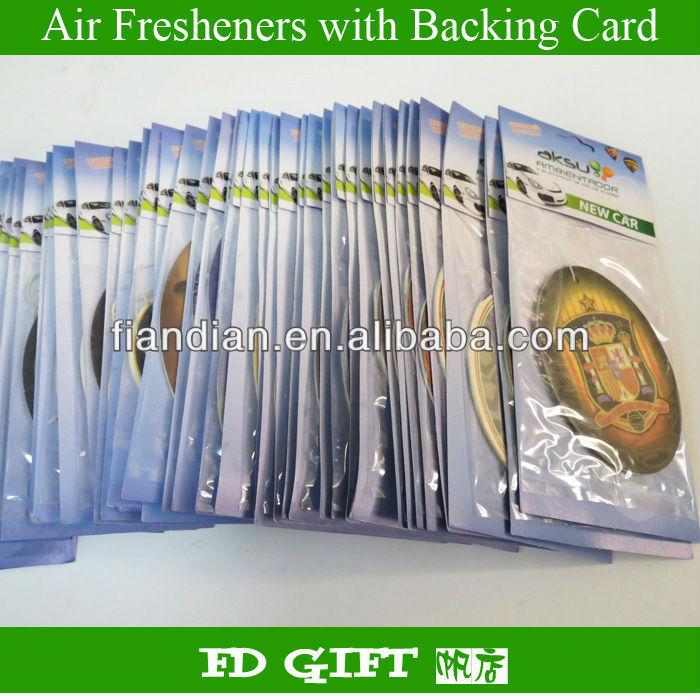 Hanging Paper Car Air Freshener