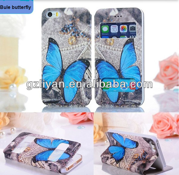 lovely printed phone bag for samsung galaxy s3 flip cover