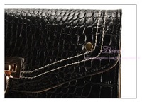 Кошелек Genuine Leather New Fashion Black Lady Long Women Wallet/Purse/Handbag Large Capacity Purse/Clutch Bag JX0310