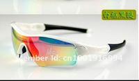 Мужские солнцезащитные очки Men's Sunglasses black frame silver logo Sport Sunglasses