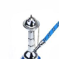 Metal & Glass Mini Hookah (Blue) - 203720