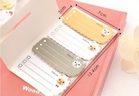 Itemship- Creative stationery cute cartoon candy colors repeated stickers sticky notes memo Rabbit