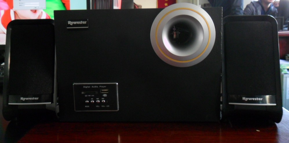 Poweful Sound!!! 2.1 subwoofer computer speakerGenerous designed& CE certification/TF-822