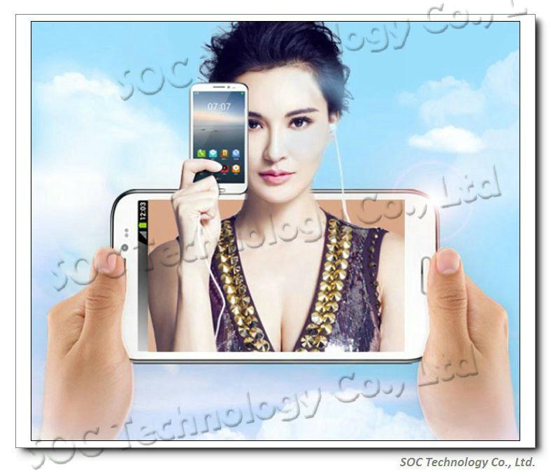 NEW 5.7'' GFIVE G9 Quad Core MTK6589 Smarthone 1GB/4GB Android 4.2 IPS