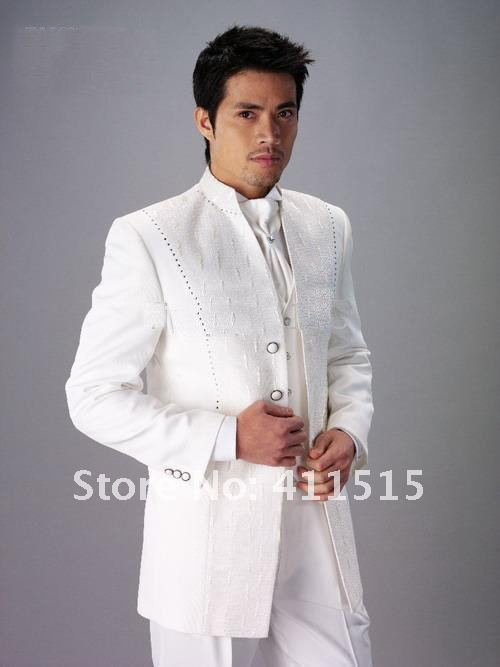 Top quality suit men's wedding dress groom wearar suit men's suits groom tuxedos