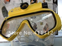 wholesale Diving Masks camera RD34, 5.0MP CMOS, working underwater 15 meter, with 4GB memory