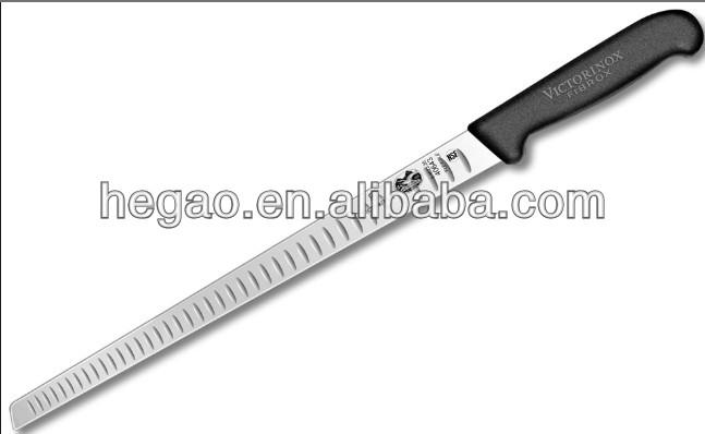 "Stainless steel 10"" salmon knife"
