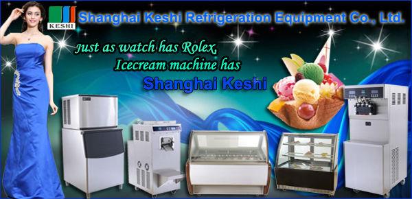 KS-80 итальянского мороженого машина//партии морозильник/итальянское мороженое машина