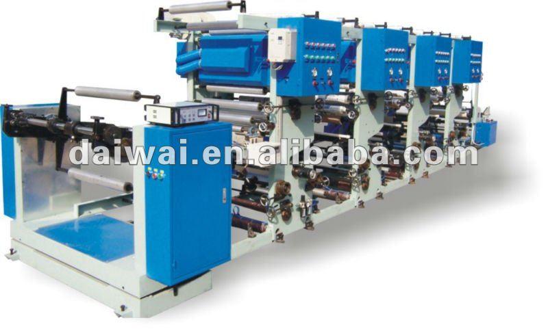 Film Printing Machine / 1-8 Colors Printer / Rotogravure Printing Machine