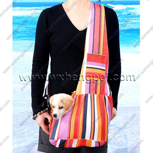 shoulder-strap carry bag for dog/ kangaroo side pet dog bag