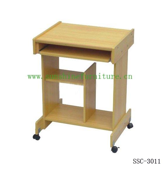 De madera de tabla de la computadora muebles de oficina for Diseno de mesa para computadora