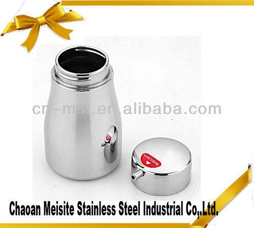 Stainless Steel oil and vinegar cruet sets