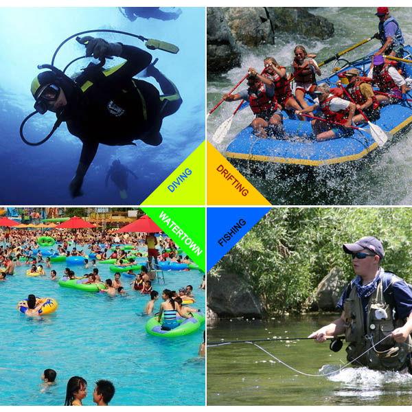 PVC waterproof camera case for Nikon digital cameras