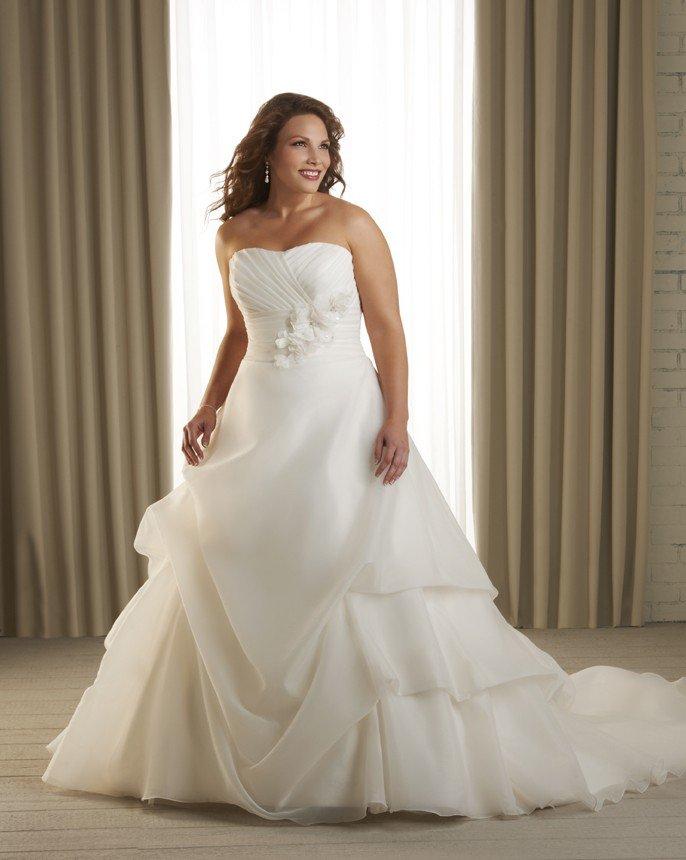 wedding dresses size 20