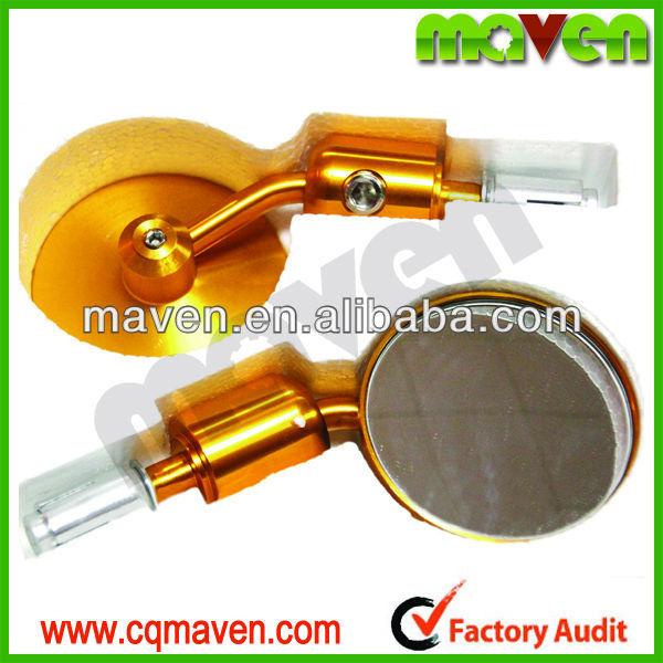 "Quality Maven Brand New 3"" CNC Bar End Mirrors Motorcycles 7/8"" Handlebar For Custom Naked bikes Cruisers Choppers MV01015"