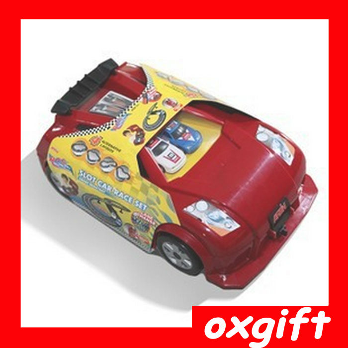 OXGIFT slot car race set crash resistant