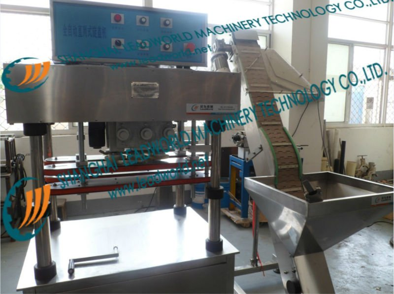 semi-automatic bottle capping machine
