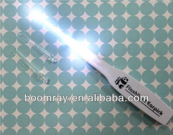 Electronic Ear spoon Cleaner luminous earwax flashlight earpick