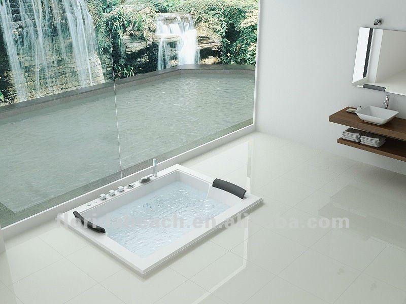 2 personne bain remous baignoire acrylique baignoire. Black Bedroom Furniture Sets. Home Design Ideas