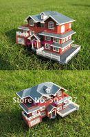 Детский набор для моделиррования 3D Plastic House Kit Palace Construction model villa