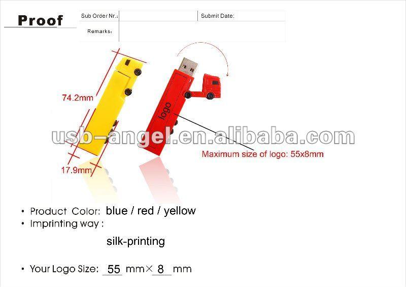 truck shape mini usb