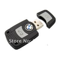 Rubber BMW Car Key 4GB 8GB 16GB 32GB USB Flash Pen/Stick/Thumb Drive Memory