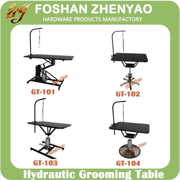 hydraulic grooming table dog