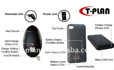 mobile phone finder & battery pack