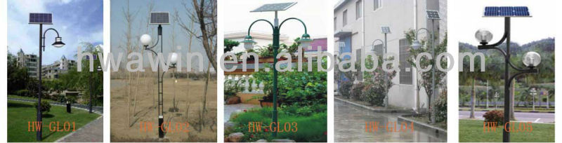 Environment friendly garden with lights 3-5M LED solar powered