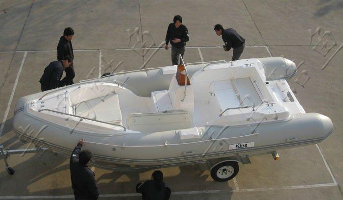 Надувная лодка rib580 pvc1 2mm роскошных яхт
