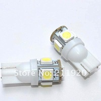 Источник света для авто 100pcs/lot white 194 168 192 W5W T10 5050 5 smd super bright Auto led car lighting/ba9s T11 wedge auto lamp