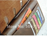 Promotion!free shipping Hot-sale Men's Coffee Leather Wallet Bifold Purse Notecase,fashion wallet#C526-76