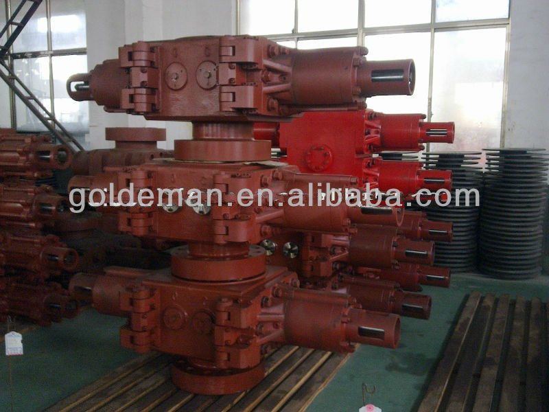 blowout preventer,cameron double ram BOP,annular blowout preventer