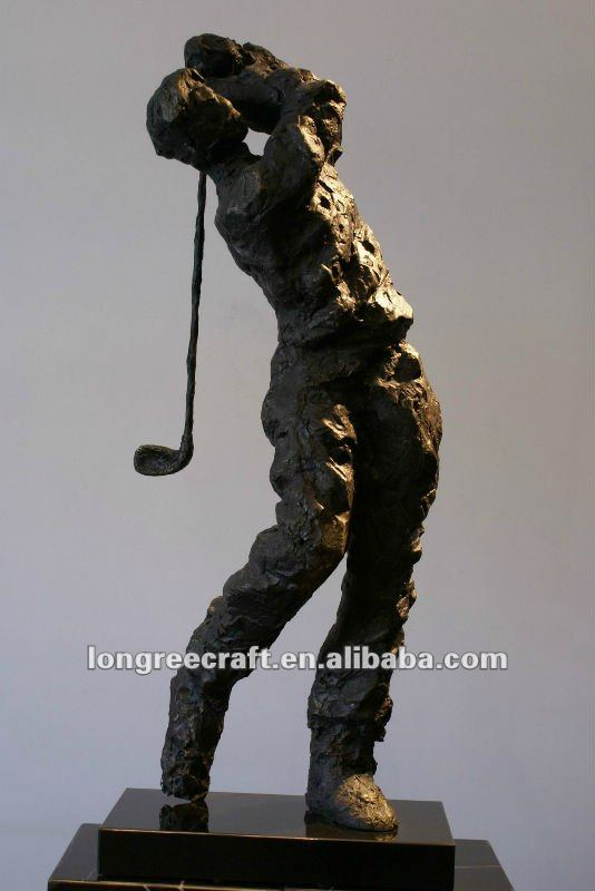 Outdoor Golf Statues Outdoor Golf Player Statues