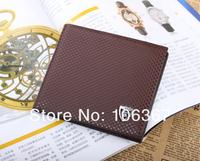 Кошелек famous branded men's wallet leather with Flip up ID Window black brown wallet zc3266-1