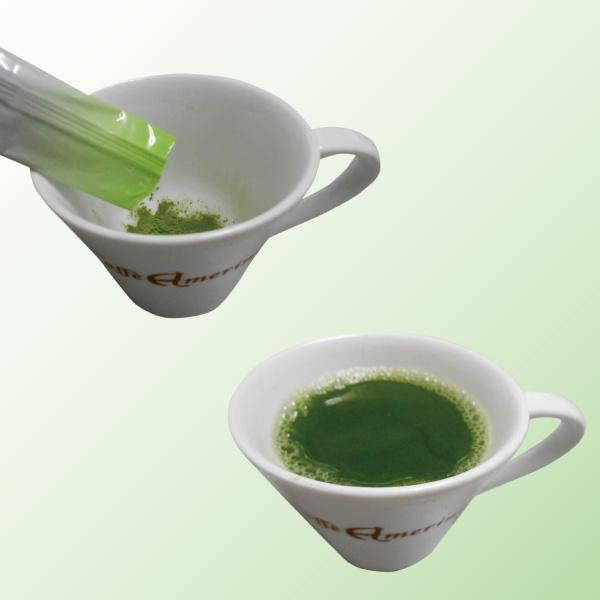 Various types of drinks by green tea maker popular in japan