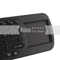 Компьютерная клавиатура Touchpad Mini Fly Air Mouse RC12 2.4GHz wireless Keyboard for google android Mini PC TV Palyer box