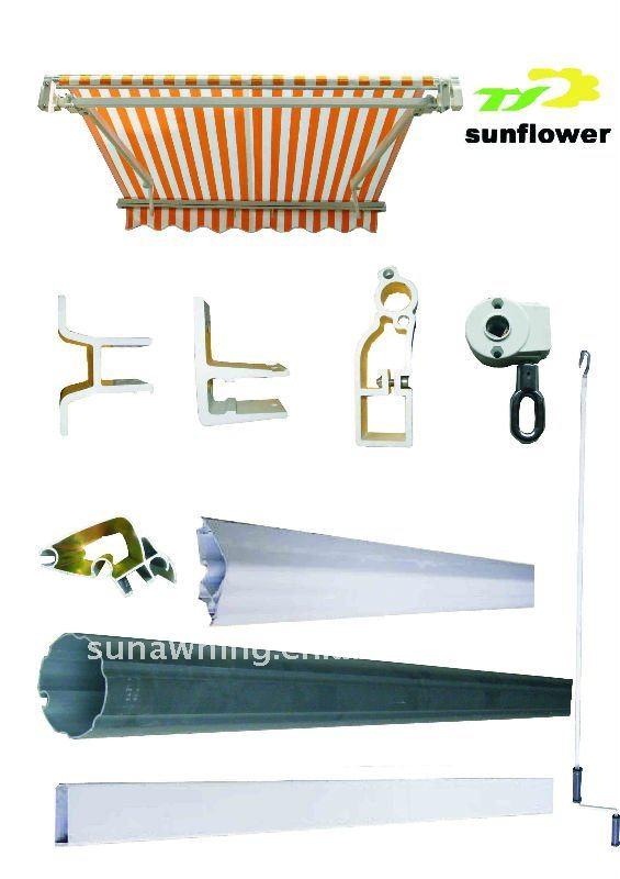 Componentes De Alta Qualtiy Para Toldos Cortinas E
