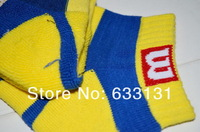 Мужские носки для тенниса 2013men's socks mid waist cotton thickening thermal socks sports basketball tennis ball sock.S053