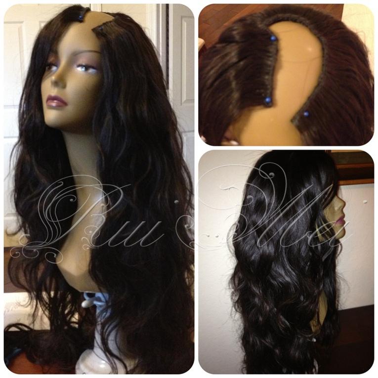 100 Human Hair U Part Wigs 63