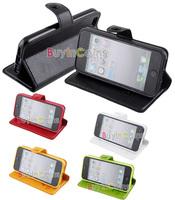 Чехол для для мобильных телефонов Flip PU Leather Protective Skin Case Cover Stand for Apple iPhone 5 5th Gen Five [29715|01|01