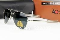 Женские солнцезащитные очки Military quality Men AO Sunglasses Driving Aviator Polarized Sun Glasses +Box+Cloth