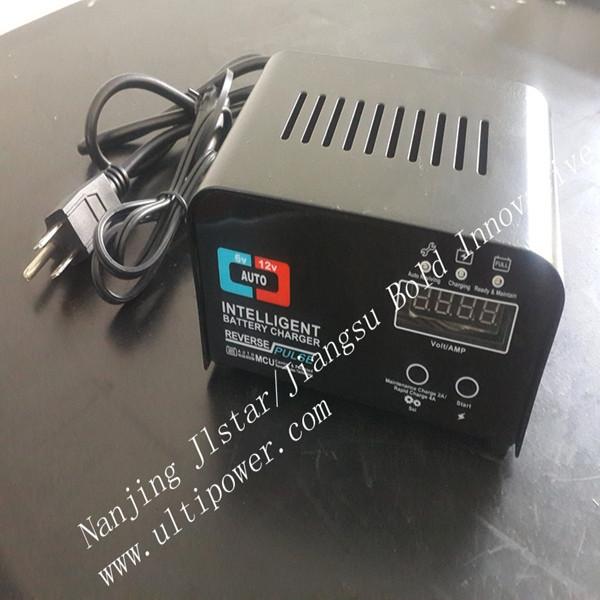 12V 1.5A quad battery charger